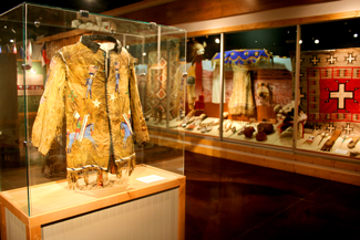 Daiys of 76 Museum Native American Display