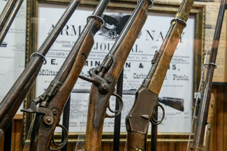 Days of 76 Museum Guns